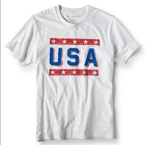 Aeropostale USA Tee Patriotic 4th of July